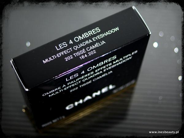 Chanel Les 4 Ombres Tisse Camelia