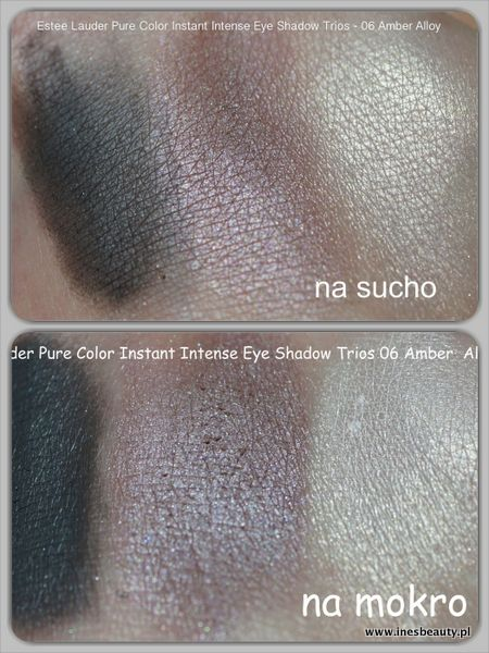Estee Luder Pure Color Instant Intense Eye Shadow Trios 06 Amber Alloy