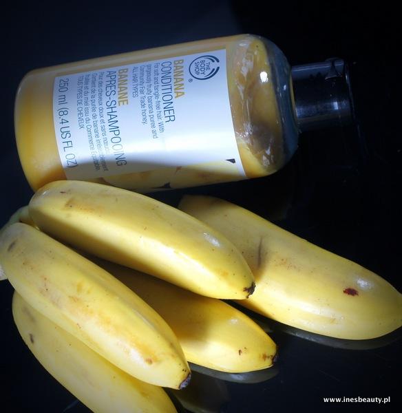 The Body Shop Bananowy szampon i odżywka