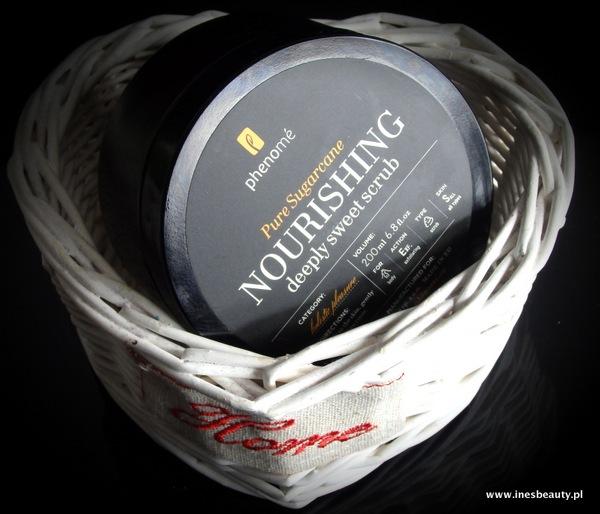 Phenome Nourishing cukrowy peeling do ciała
