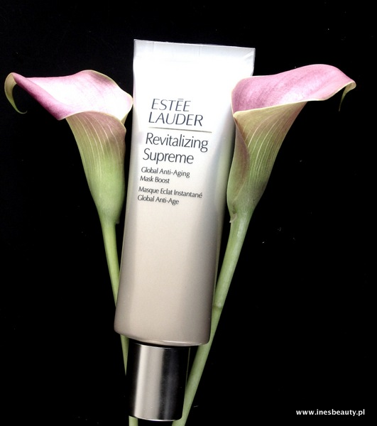 Nowa maseczka Estee Lauder Revitalizing Suprem Global Anti-aiging mask boost