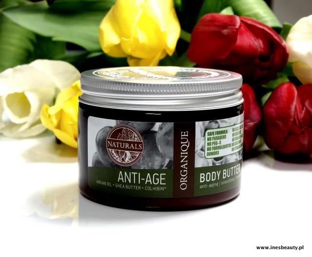 ORGANIQUE masło do ciała Anti-Age