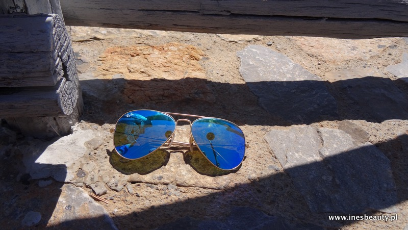 Ray-Ban Aviator Blue Flash