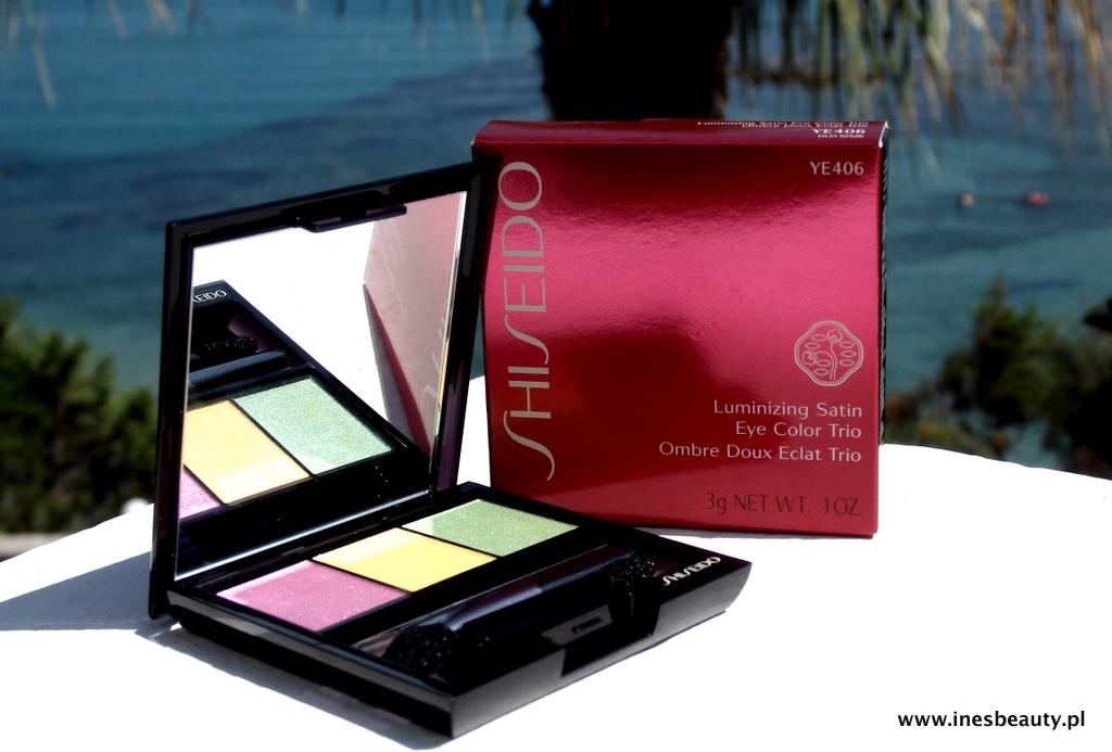 Shiseido Luminizing Satin Eye Color Trio -YE406 Tropicalia