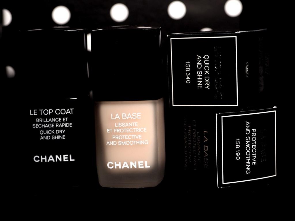 Chanel LA BASE, LE TOP COAT