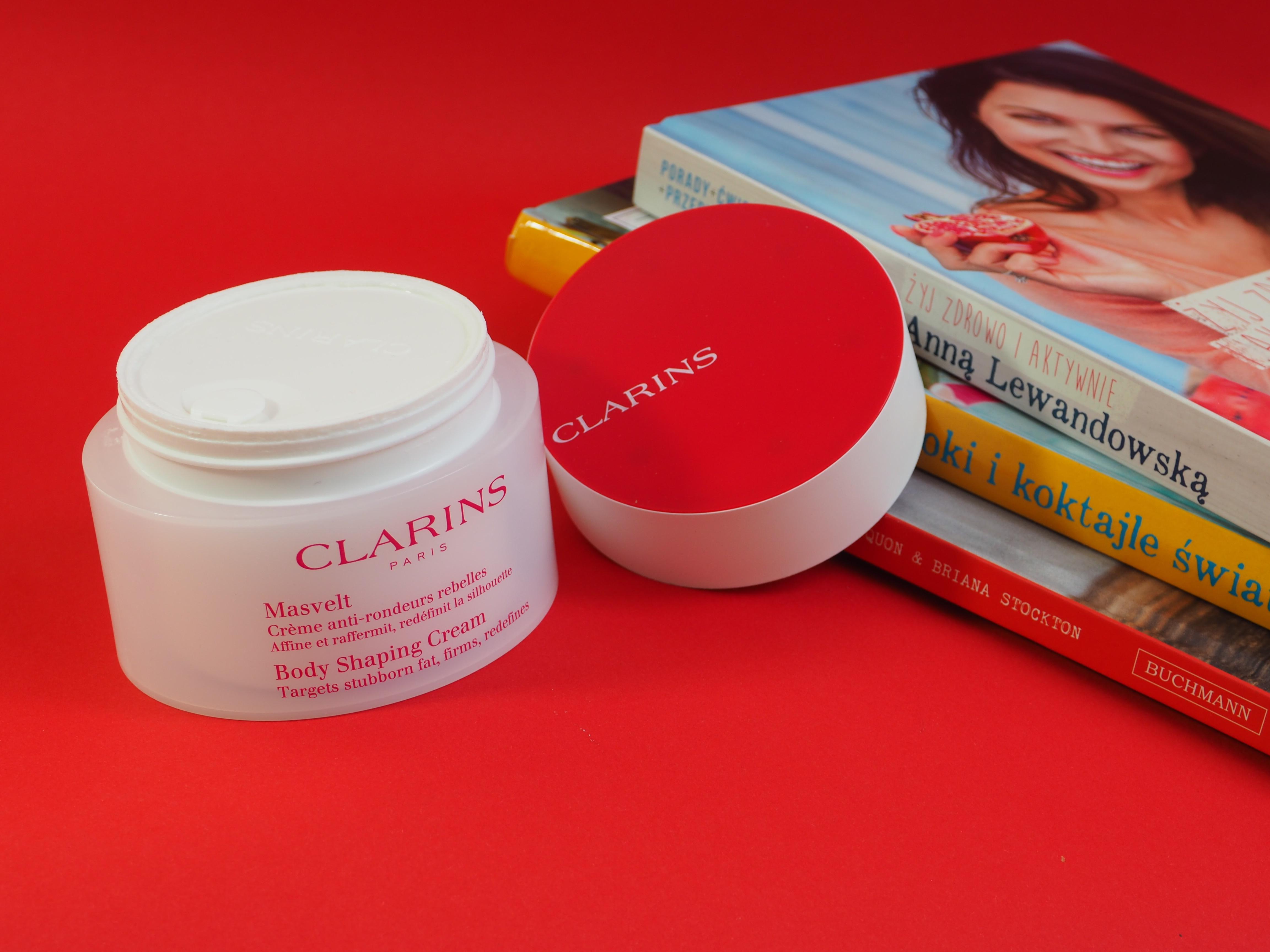 Clarins Masvelt Body Shaping Cream - modelujący krem do ciała