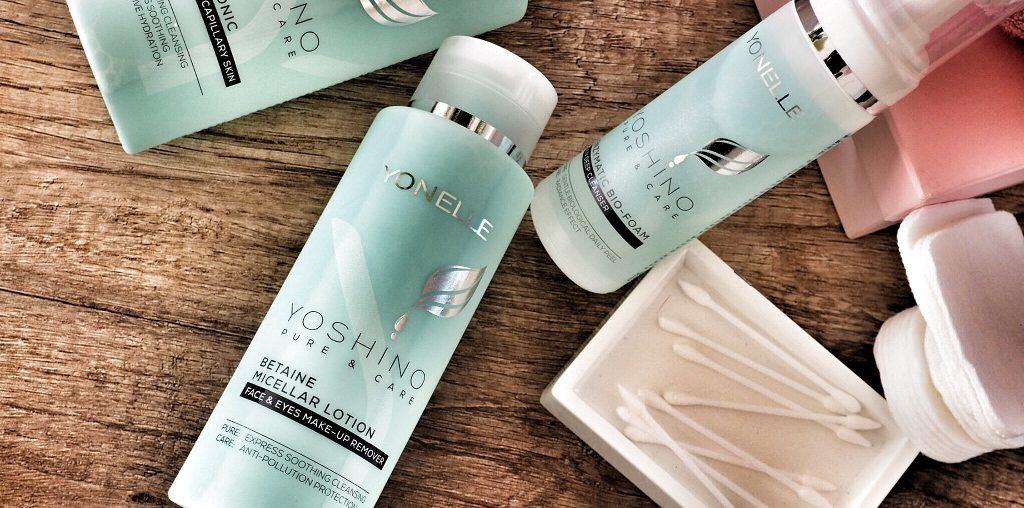 Yoshino Pure & Care Betainowy płyn micelarny