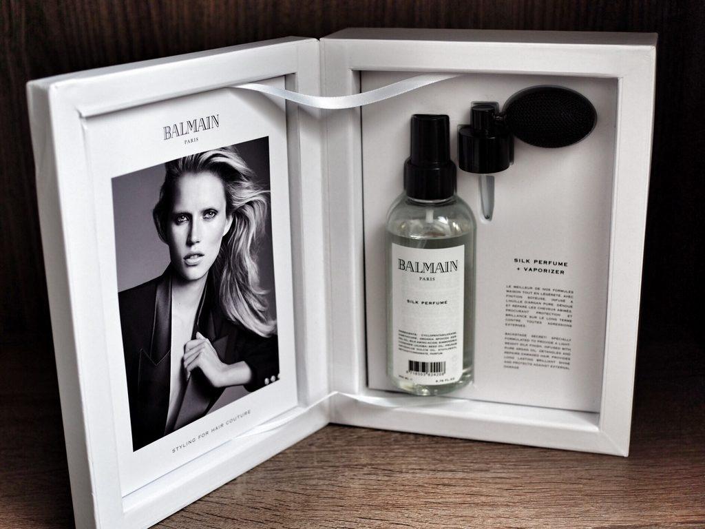 SET HAIR PERFUME WITH SILK PERFUME & VAPORIZER Luksusowy zestaw z jedwabnymi perfumami Silk Perfume i rozpylaczem