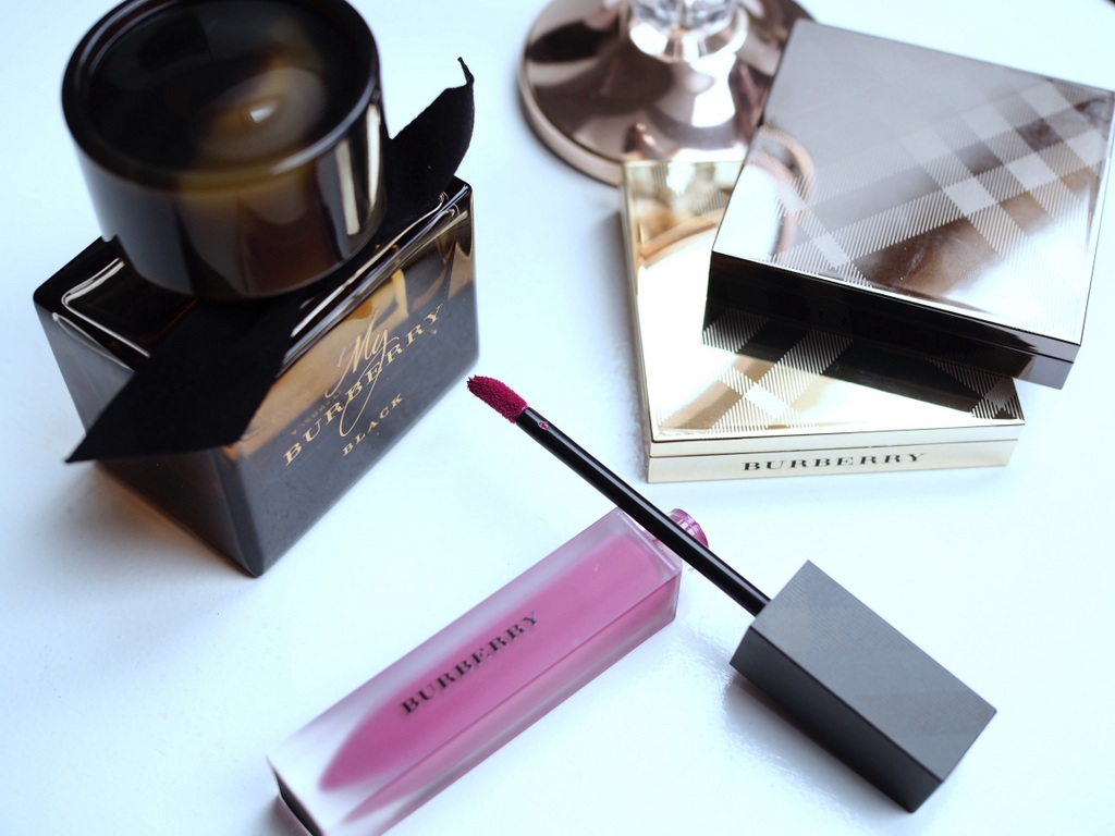 Burberry Liquid Lip Velvet Brilliant Violet No.45