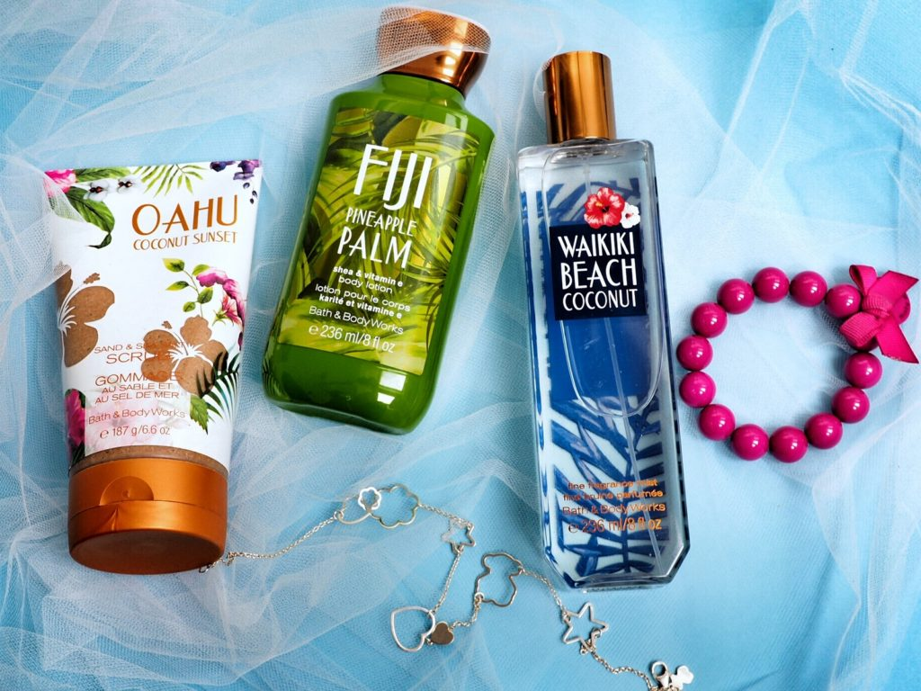 Welcome to Paradise Bath and Body Works