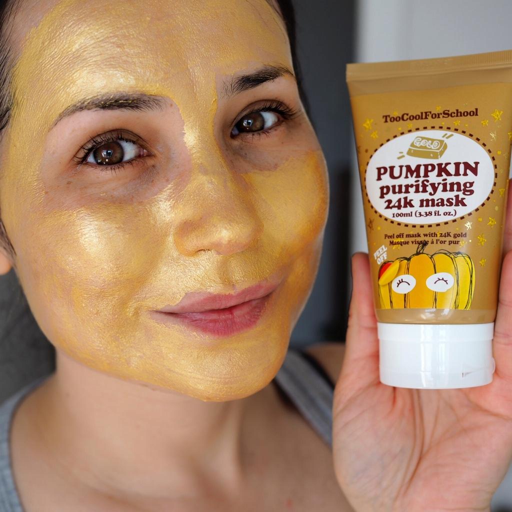 Pumpkin Gold Peel Off Mask