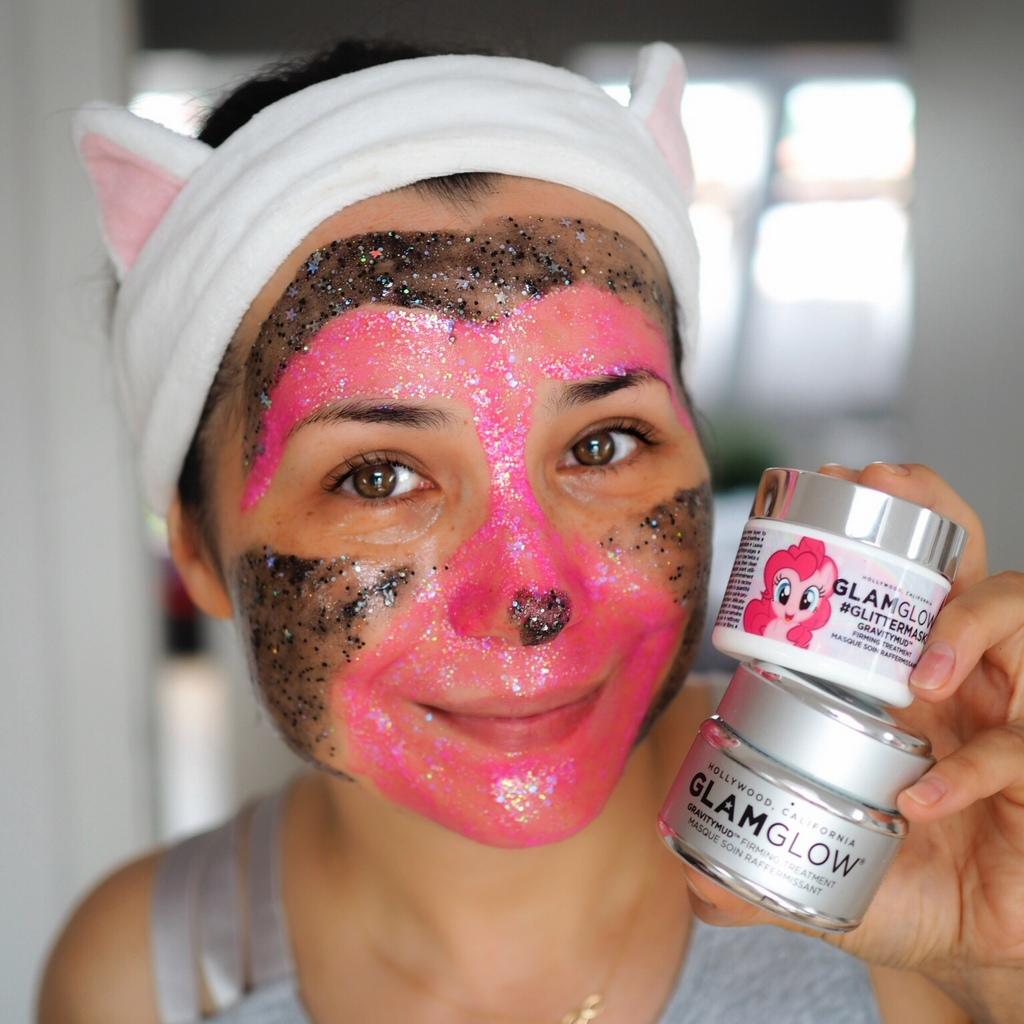 GLAMGLOW maski GRAVITYMUD #GLITTERMASK THE LITTLE PONY.