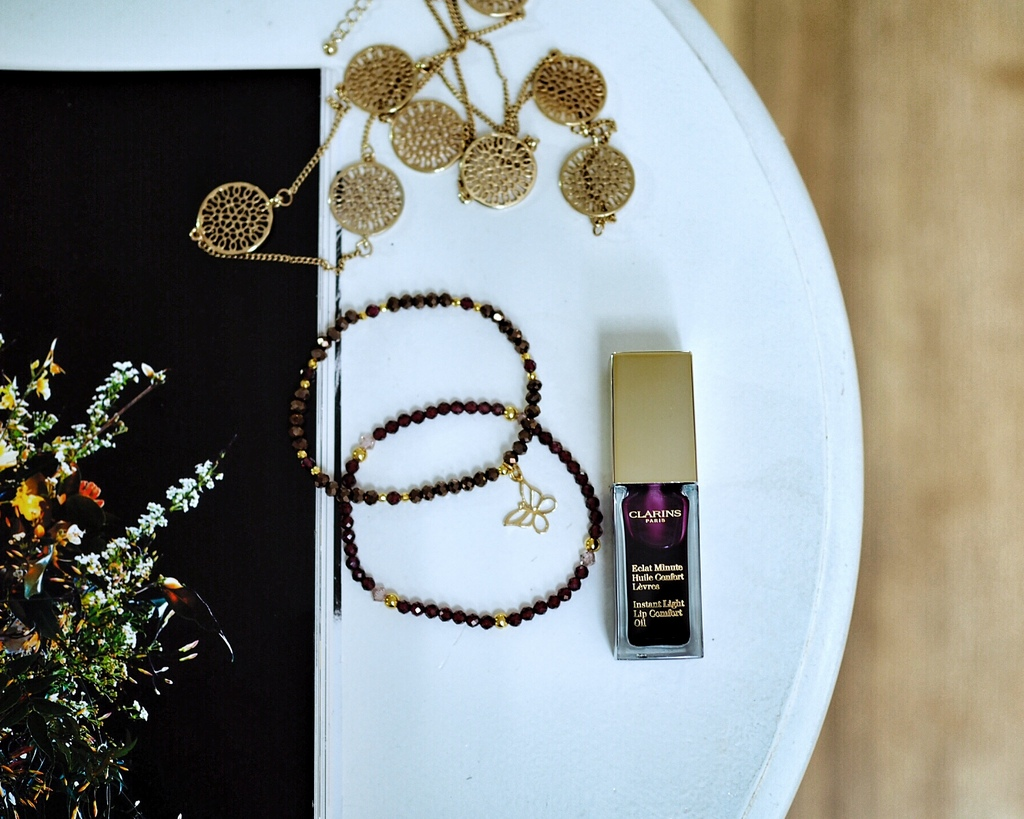 Clarins | Instant Light Lip Comfort Oil - Blackberry
