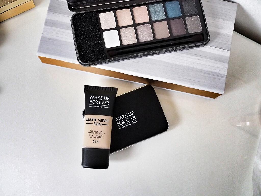 Test podkładu Make Up For Ever Matte Velvet Skin