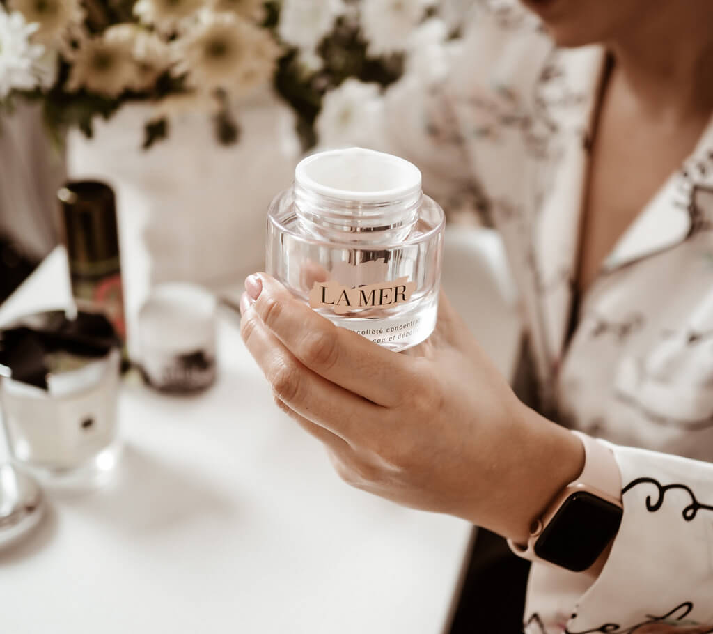 La Mer The Neck and Decollete Concentrate!